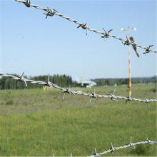钢丝绳毛刺 安平刺绳厂家 刺铁线隔离网