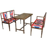 哈中信工厂复古,欧式餐桌椅