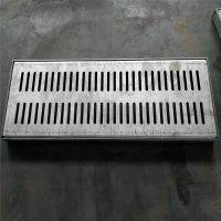 金聚进 厂家供应 小区道路不锈钢排水沟盖板 成品钢格栅盖板 花纹钢盖板