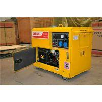 5KW千瓦单缸风冷柴油发电机组 三相380V静音全铜发电机