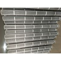 煜坤厂家直销不锈钢防静电PTFE覆膜除尘滤芯 耐高温除尘滤筒