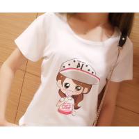 女装圆领t恤短袖低价批发 夏装韩版时尚修身显瘦女装短袖清货批发