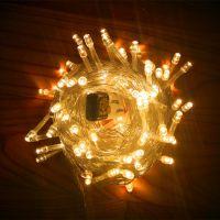 厂家直销LED满天星灯串 婚庆装饰彩灯 户外防水灯串 亮化工程灯案例