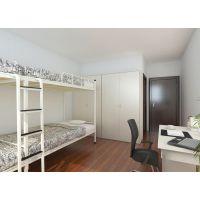 供应(2018款)新型现代公寓铁床、色彩鲜艳,具有强度高、耐腐蚀