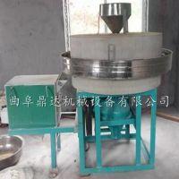 家用小型荞麦面粉石磨机 农村专用电动面粉石磨 鼎达