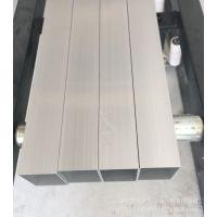 6063铝方管木纹方管 铝合金方管 喷涂电泳方通 扁通 多规格现货