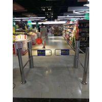 深圳地区超市自动感应门摆闸超市入口闸机 远韬智能