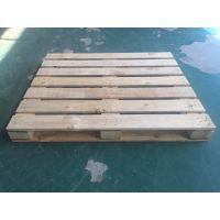 厂家定制出口四面进叉木托盘加工定做IPPC熏蒸实木木栈板