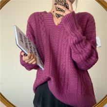 库存尾货毛衣批发市场 秋冬新款女式高领毛衣修身羊绒衫针织打底衫女套头