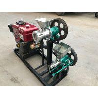 ZD-PH玉米膨化机 柴油机带的玉米膨化机