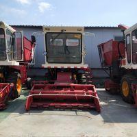 大型牧草青储粉碎回收机 全自动皇竹草收割机 秸秆回收粉碎打捆机