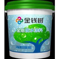 厂家直销质量比肩立邦漆js钢化聚合物防水涂料金钱树水漆易施工干燥快耐酸碱