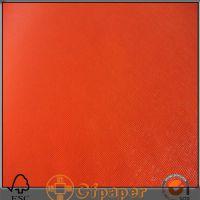 特种纸-红色网格纹 充皮纸
