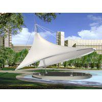 制作户外广场膜结构城市公园道路景观棚PVDF张拉膜结构帐篷