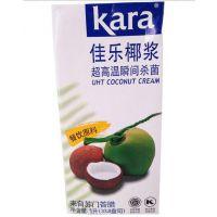 Kara佳乐纯正椰浆 餐饮港式甜品奶茶西米露椰浆饭椰浆1L盒装