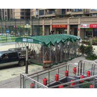 无锡市雨棚报价推拉雨棚帐篷定做质量安全中盛