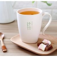 Metka圆形带柄竹纤维水杯,外贸家居用品厂家专业生产批发竹纤维水杯