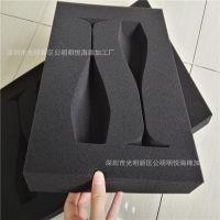 定做弧形海绵包装 异形海绵 黑色海绵包装厂家高密度海绵内衬