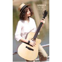 湖南吉他厂 拜泊乐器生产厂家 willter威尔特木吉他