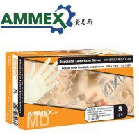 AMMEX/爱马斯TLFCVMD一次性乳胶检查防护手套