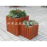 供应品木出口意大利花箱:进口山章木花箱