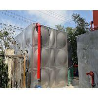 直销上海不锈钢拼装水箱 定制液位显示 304模压板焊接组合水箱