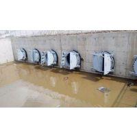 河北省昊宇水工碳钢节能型侧翻拍门加工定制厂家销售