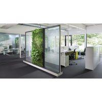 植物墙与办公室的有机结合,让你从此爱上上班