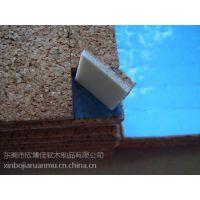 供应安徽省防震防滑泡棉软木玻璃垫片3+1mm厚