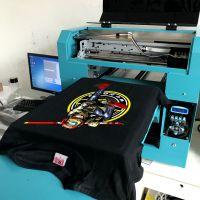 服装印花机 定制T恤印花机 衣服印照片平板打印机