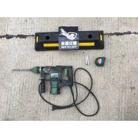 永顺通dwq-0101防滑耐磨减速天然橡胶定位器橡塑挡车器厂家清仓批发