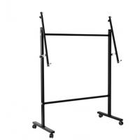 恒祺晟荧光板专用滑动支架 60-100/80-120白板黑板灯箱栏目板广告板支架材质金属
