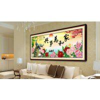 北京春歌钻石画优品设计的华丽风格