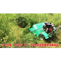 中国专业生产【堤坝割草机厂家】瓦尔特自走式履带割草机型号