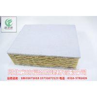 厂家加工岩棉一体复合板 8公分岩棉一体复合板