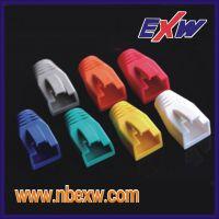 厂家推荐高品质RJ45网络水晶头 护套,各种规格、颜色齐全