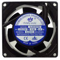 批发离子风扇8038散热风扇/机箱风扇含油220V工业风扇生产厂家