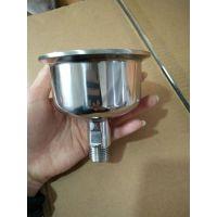 卫生级不锈钢焊接带碗状非标管件