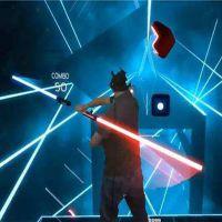 VR节奏光剑抖音游戏设备百首流行歌曲500款虚拟现实游戏拓普互动TPMM