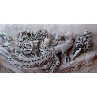 烟台古建古典浮雕青砖耐腐蚀雕塑