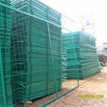 桃形立柱护栏网 三角折弯护栏 小区围网