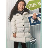 冬装童装外套折扣货源供应 品牌折扣童装批发走份 尾货批发一手货源