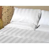 长期供应宾馆酒店用高密高织纯棉缎条