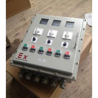 反应釜防爆变频器调速箱 反应釜防爆调速电控箱