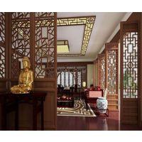广东德普龙焊接木纹铝型材窗花加工定制厂家销售