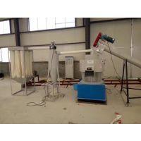 山西生物质原料造粒机组-木屑秸秆颗粒机省成本-600多功能木材粉碎机