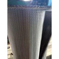 正捷非标定制人字形304不锈钢高温输送网链 高温窑炉加密折边网带