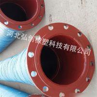 港口堵塞吸排胶管|泥浆输送胶管|实地测量