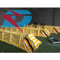 河北帝智防汛堵水墙供应厂家可折叠型储水式堵水墙