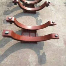 生产碳钢U型管卡 管道固定管卡